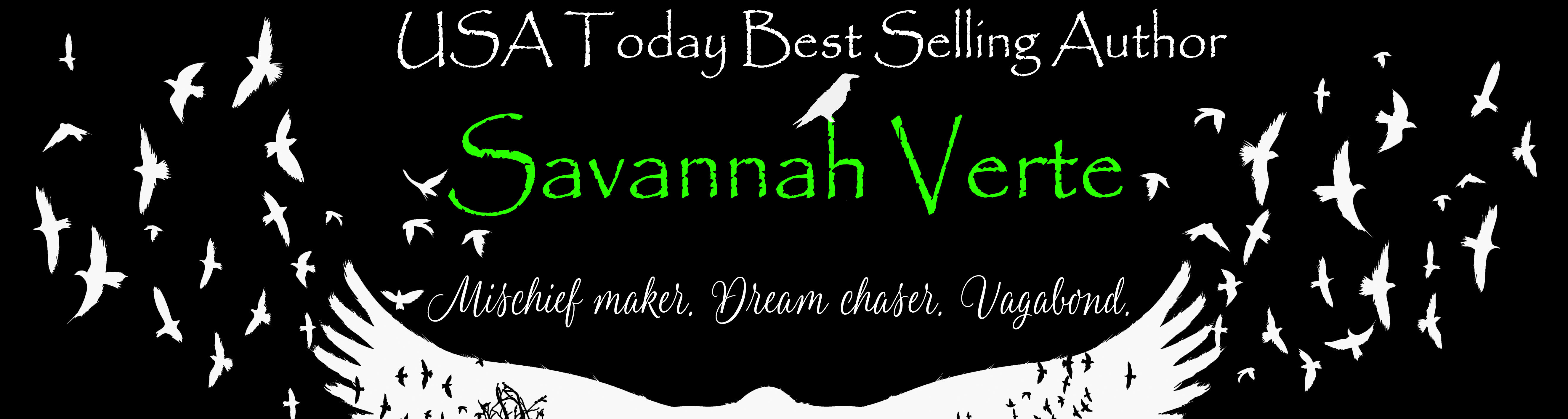 Author Savannah Verte